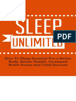 (Better Body, Energy, Edge 1) Barrow, Andrew-Sleep Unlimited_ How to Sleep Smarter for a Better Body, Better Health, Increased Brain Power and Total Success (2014)