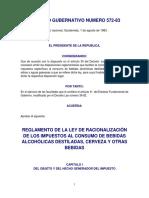 Reg. de La Ley de Inversión Extranjera