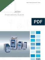 WEG Automatizacion Arrancadores Suaves 778 Catalogo Espanol