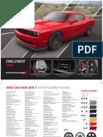 Dodge Challenger Ficha Tecnica 2018