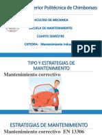 4 Tipos de Mantenimiento Industrial