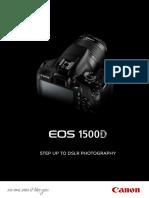 Eos 1500d Dslr Tech Sheet