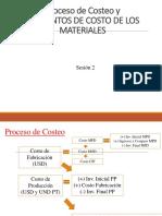 Costeo de Materiales