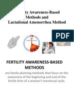Fertility Awareness-Based Methods and Lactational