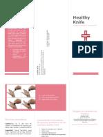 Brochure Healthy Knife