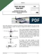 Test DdS 2006-2007 - Correction