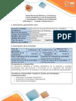 Guía de Actividades y Rubrica de Evaluación - Actividad 4 - Trabajo Colaborativo 3
