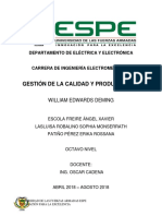 Informe Edwards Deming