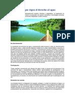 0 Principios Que Rigen El Derecho Al Agua
