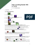 Demon Hunter Leveling Guide 100
