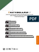 IKeyboardS Series User Manual(Spanish)