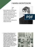 Metodo Maria Montessori