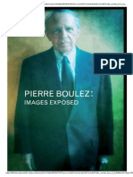 Pierre Boulez - Images Exposed