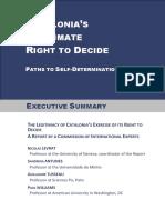 Executive Summary Catalogne