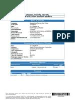 Certificado de Envio - Cumple Lo Ordenado - 11 de Enero 2017