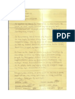 Pds in Tagum Letter to Pnoy