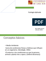 Ecologia Aplicada Semana 1