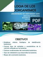 Fisiologia de Los Microorganismos