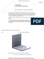 Estimate Weld Distortion Using SOLIDWORKS Simulation