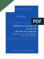 42.- Estudios en Homenaje Al Doctor Héctor Fix-Zamudio - Tomo I - Derecho Procesal
