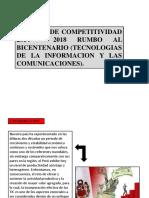 Eje 5 - Agenda de Competividad