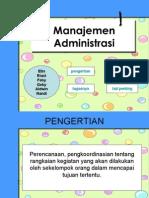 manajemen administrasi (ekonomi)