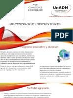 Administración y Gestión Pública
