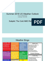 Summer 2018 Outlook