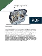 Mengenal Prinsip Kerja Diesel Common