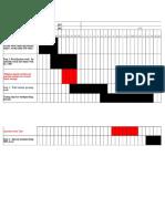 Waterproofing Schedule
