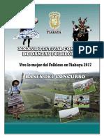 Bases Oficiales Revisados Danzas 2017 Tiabaya
