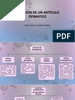 CREACIÒN DE UN ARTICULO OFIMATICO DIANA MARCELA RINCON CARDENAS.pptx