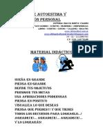 03) Taller Para Aumentar La Autoestima y de Superación Personal. 2015