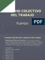 Derecho Colectivo Del Trabajo-fuentes