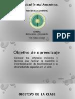 Clase 4,5,6 Inventarios de Biodiversidad