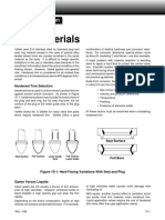 Trim Material Valve Plug