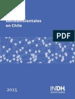 2016 Mapa Conflictos Socioambientales Chile (INDH)