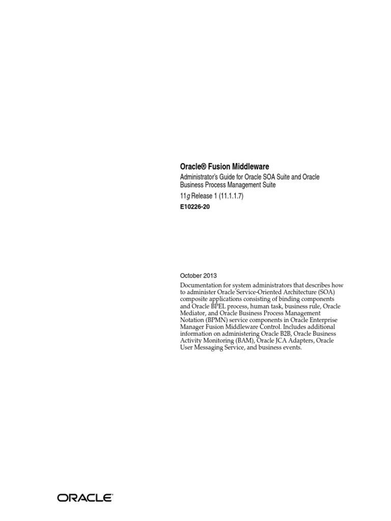 Oracle Bpm Suite 11g Advanced Bpmn Topics Pdf