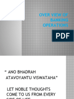 1.Over View of Banking Operations