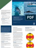 Marine Mammal Proximity Brochure
