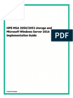 HPE MSA 2050,2052 Storage and Microsoft Windows Server 2016