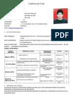 Curriculum Poma Villarreal Alejandro