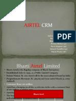 Airtel CRM - Sec A