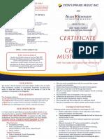 Ccm Brochure