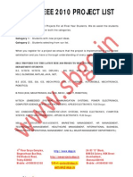 Ieee 2011 Java Project Titles, Ieee 2011 Projects List, Ieee 2011 Project Chennai
