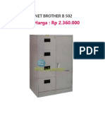 Filing Cabinet Brother b 502