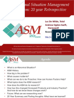 ASM Abnormal Situation Management