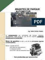 Contaminantes de Parque Automotor
