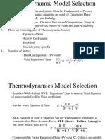 Thermodynamic Model Selection
