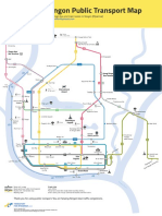 Routes Map Yangon Nov2017